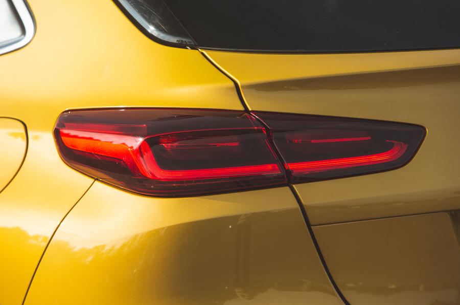 Kia Xceed 2019 road test review - rear lights
