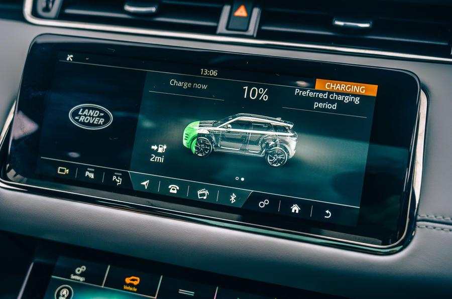 12 Land Rover Range Rover Evoque 2021 : essai routier - infotainment