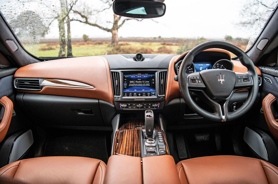 Maserati Levante S GranLusso 2019 road test review - cabin