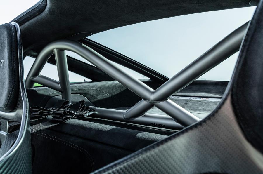 McLaren 765LT 2020 road test review - rollcage