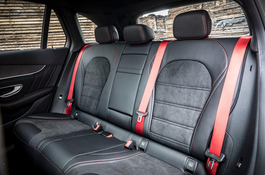 Mercedes-AMG GLC 43 road test review - rear seats