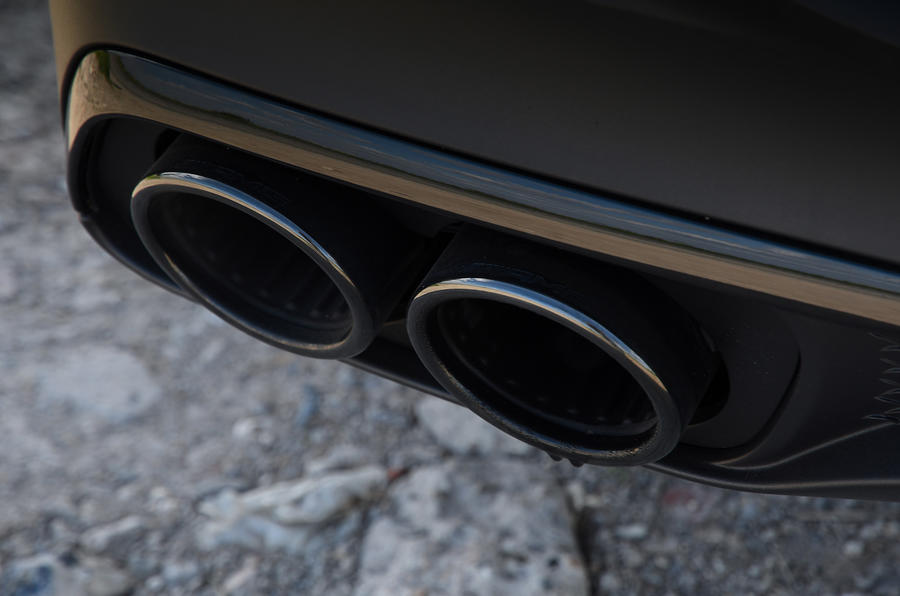 Mercedes-AMG GLE 53 2020 road test review - exhausts