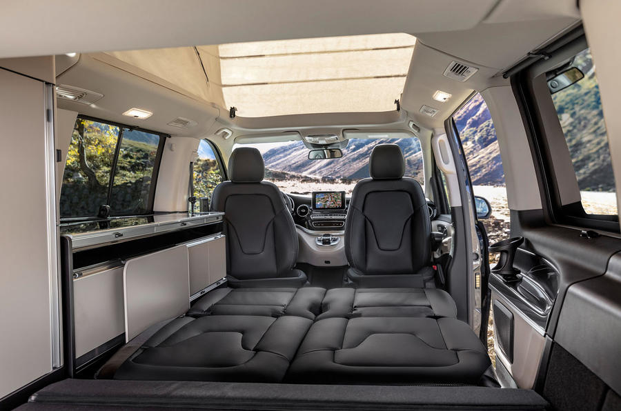 Mercedes-Benz Marco Polo 2019 road test review - camping