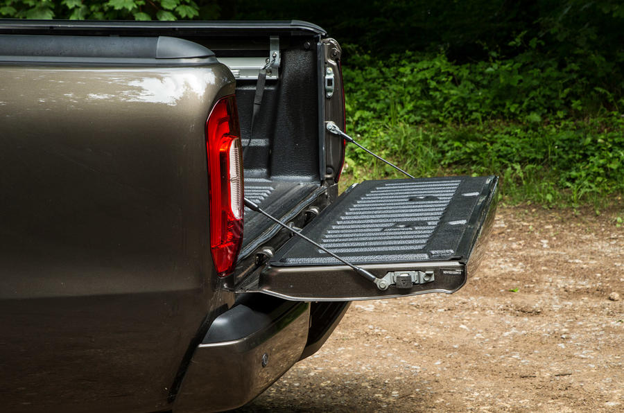 Mercedes-Benz X-Class road test review flatbed down
