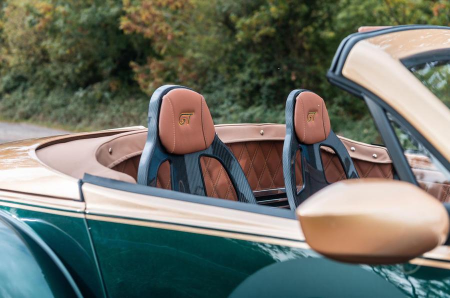 Morgan Aero GT 2018 review - seats