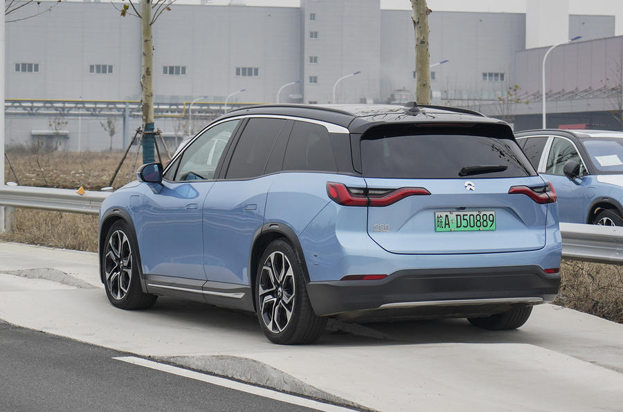 Nio ES8 road test review - static side