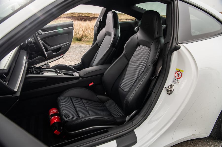 Porsche 911 Carrera S 2019 road test review - cabin