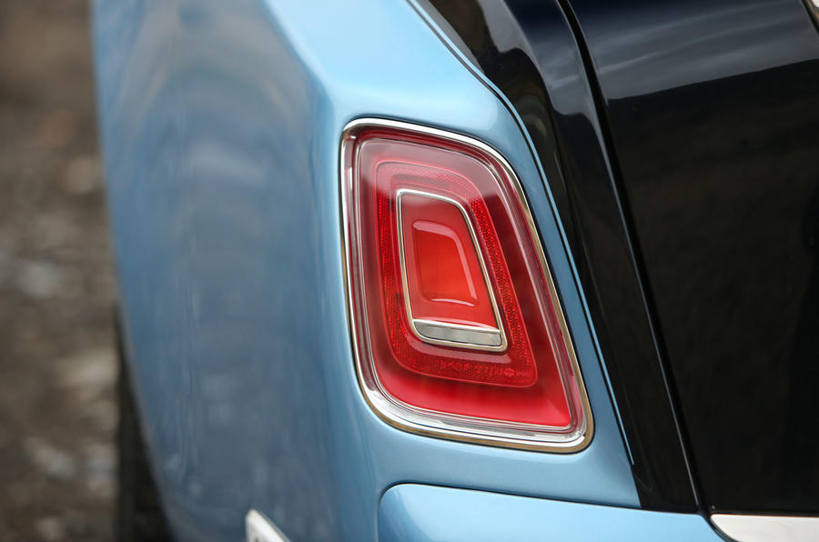 Rolls Royce Phantom 2018 review rear lights