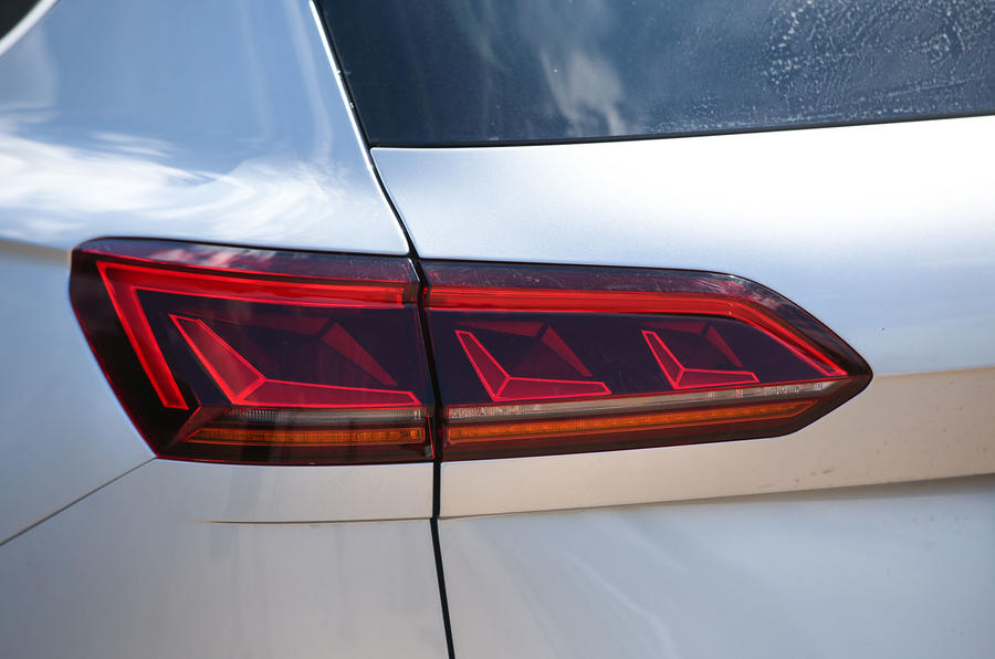 Volkswagen Touareg 2018 road test review rear lights