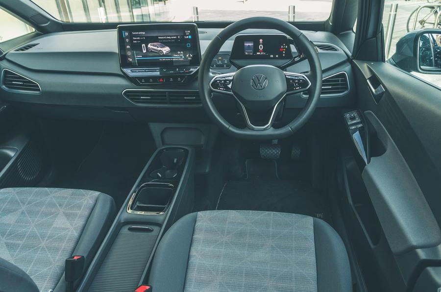 12 VW ID 3 2021 essai routier cabine