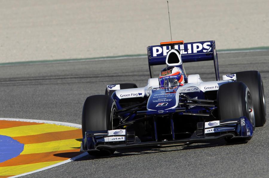 F1 testing in Valencia: pics