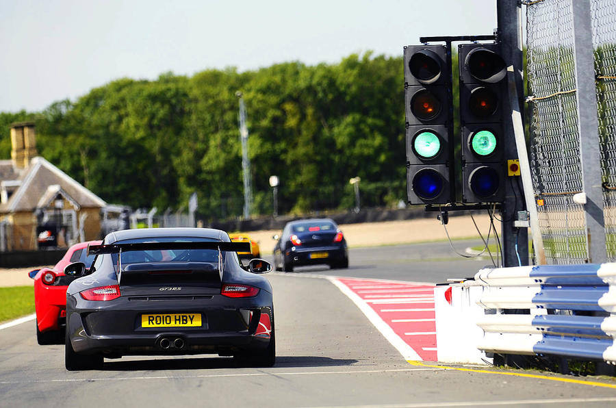 911 GT3 RS is UK's Best Driver's Car