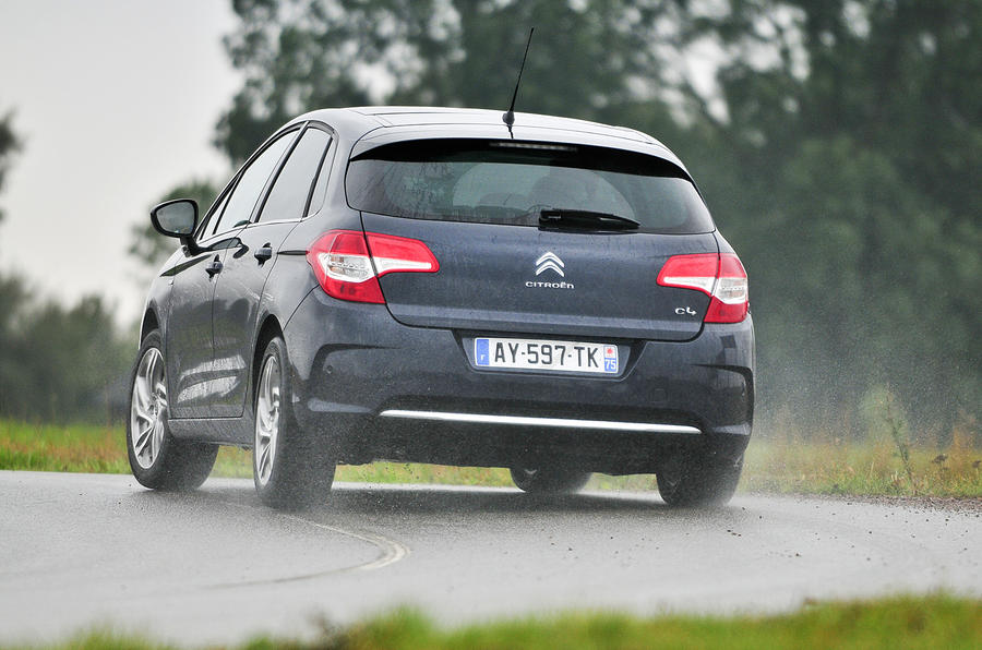 Citroën C4 rear