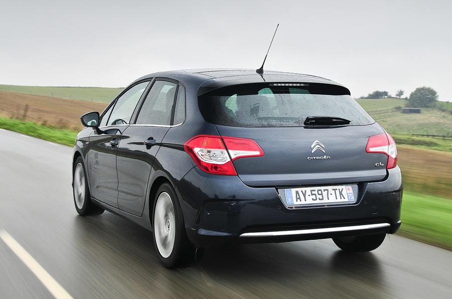 Citroën C4 rear quarter