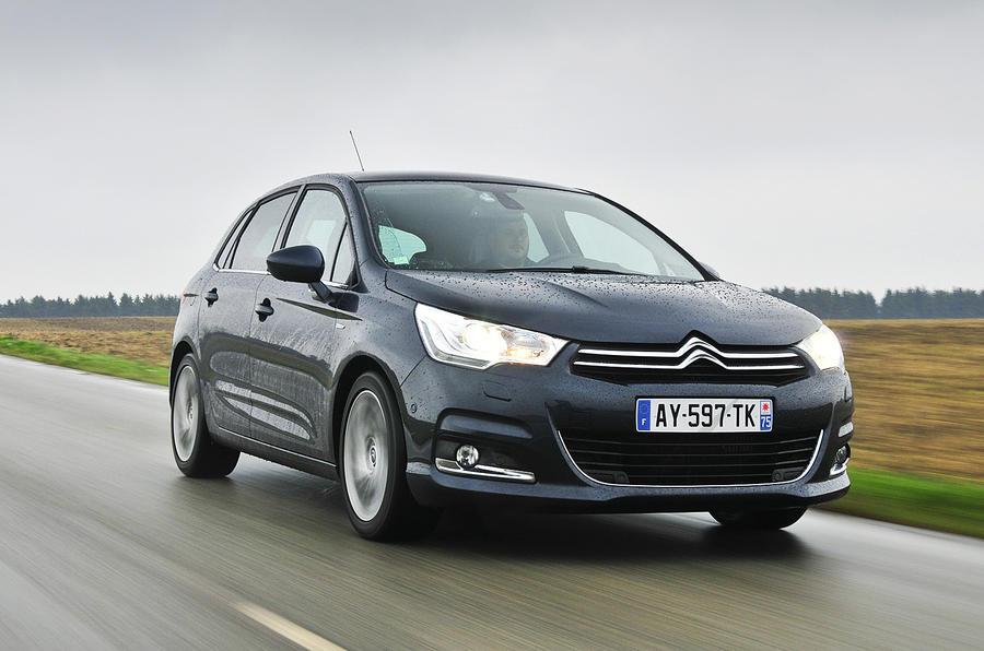 Citroën C4 front quarter