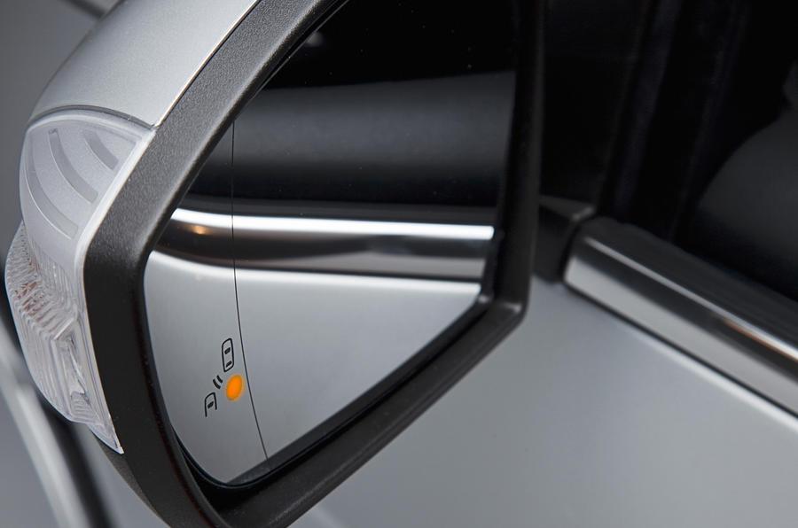Ford S-Max blindspot monitor