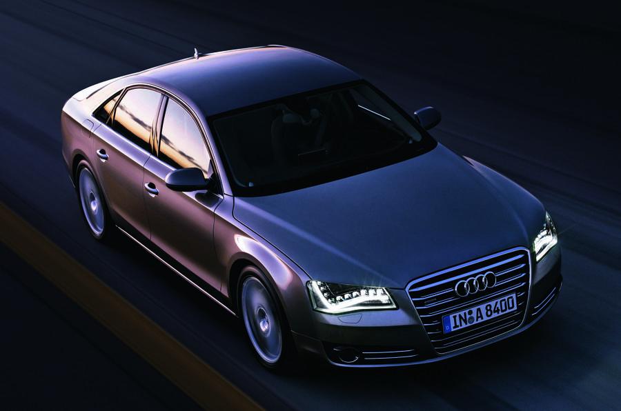 Audi A8 front quarter