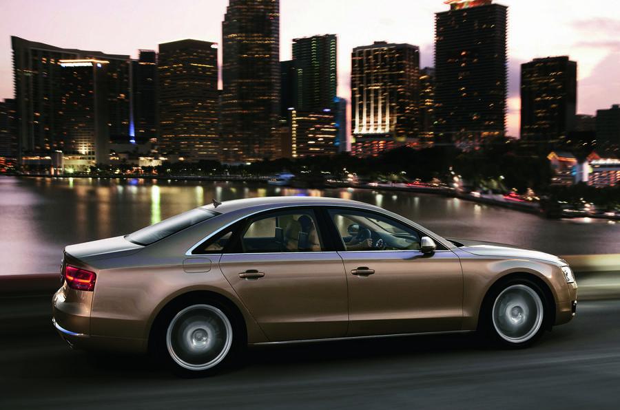 Audi A8 side profile