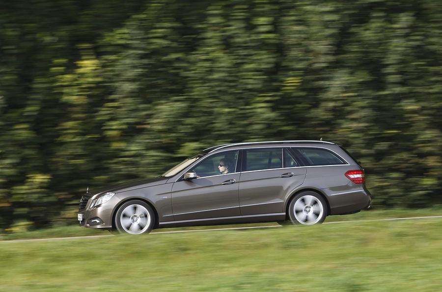 Mercedes-Benz E250 CDI Estate side profile