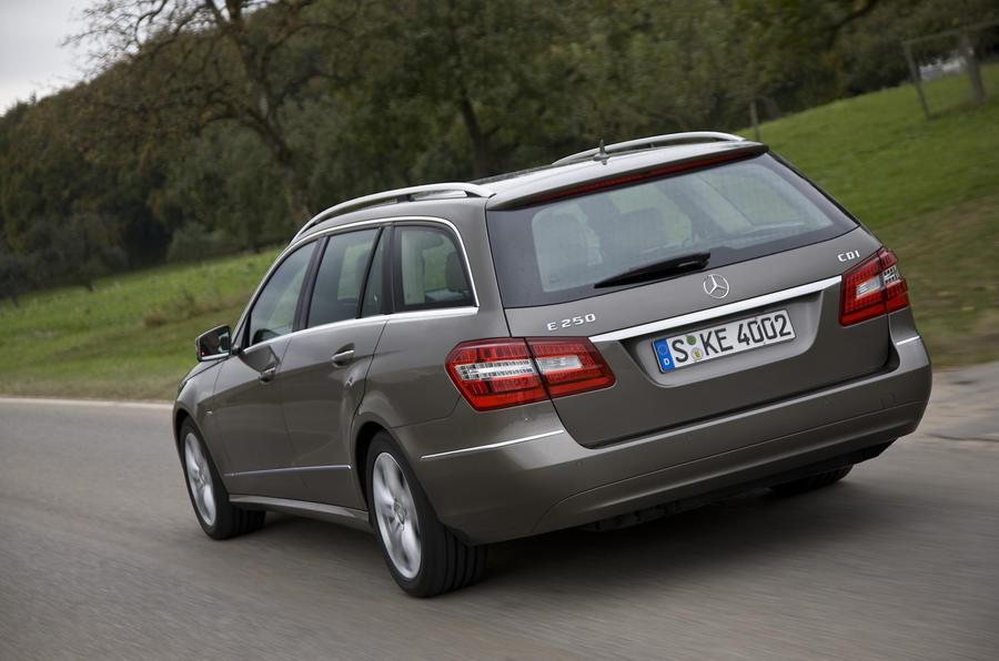 Mercedes-Benz E250 CDI Estate rear quarter