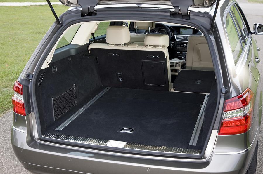 Mercedes-Benz E250 CDI Estate seating flexibility