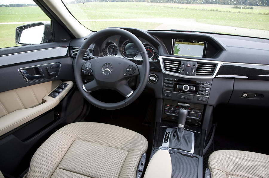 Mercedes E250 dashboard