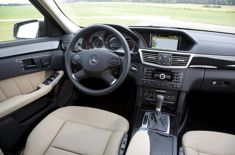 Mercedes E250 dashboard