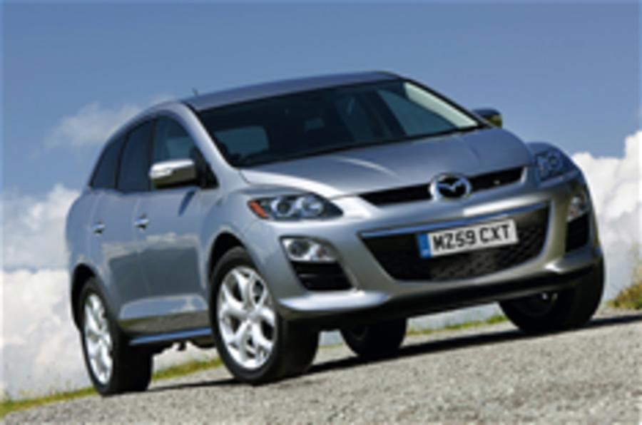 Mazda CX-7 prices and spec