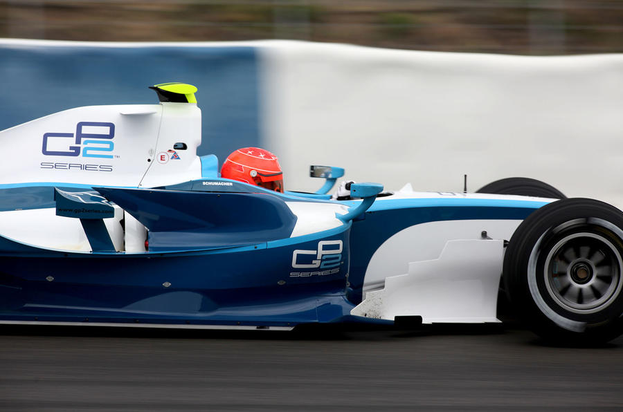 Schuey stuns with his test pace