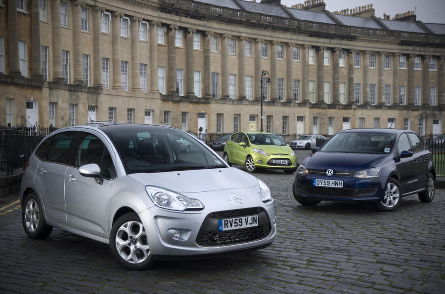VW Polo tops supermini test