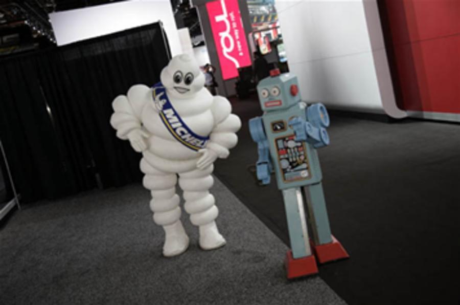 Detroit motor show 2010 - blogs