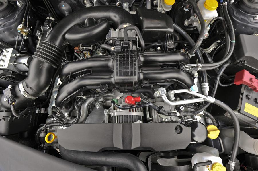 2.0-litre Subaru Forester diesel engine