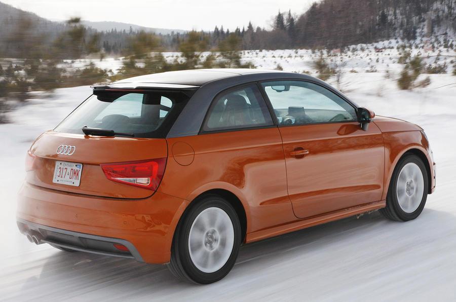 Audi A1 1.4T quattro rear