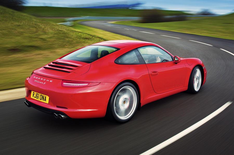 Porsche 911 Carrera S rear