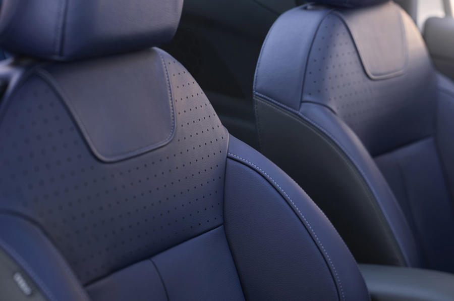DS 3 Cabriolet sport seats