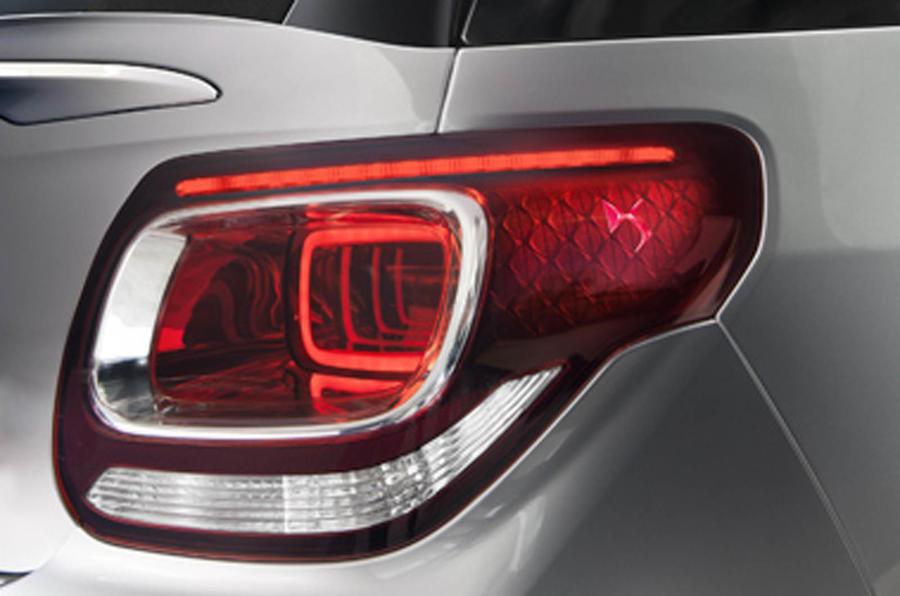 DS 3 Cabriolet rear lights