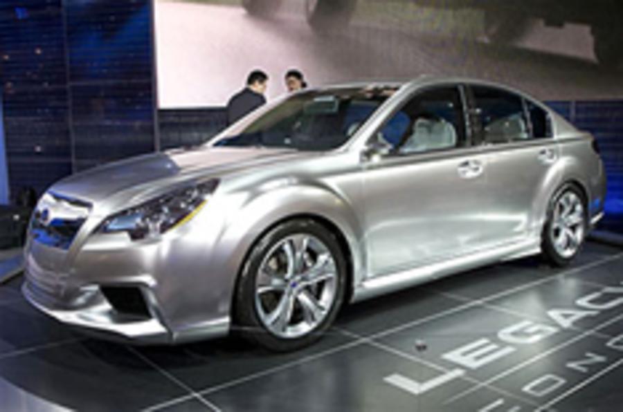 Subaru Legacy concept revealed