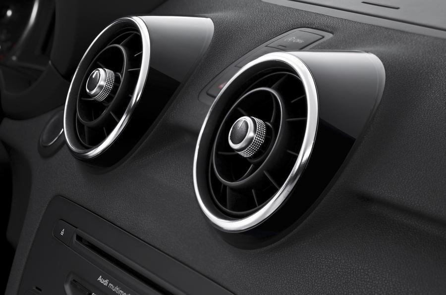 Audi A1 air vents