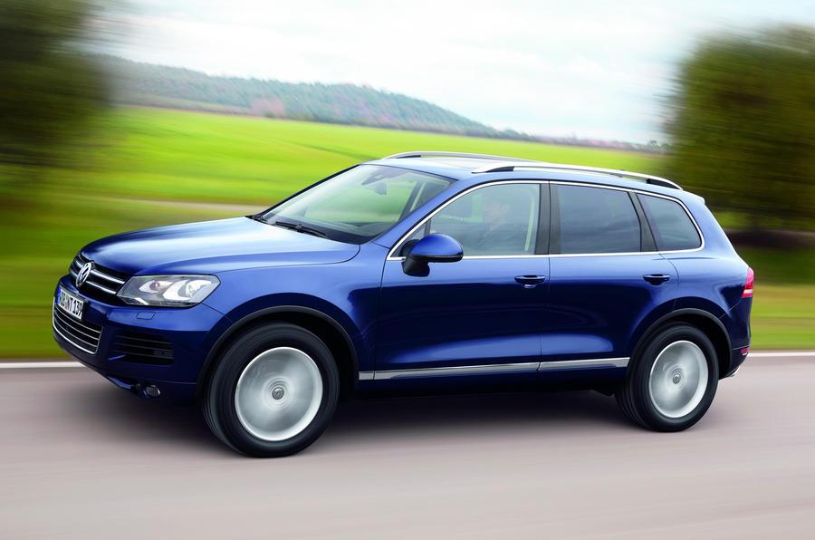 Volkswagen Touareg side profile
