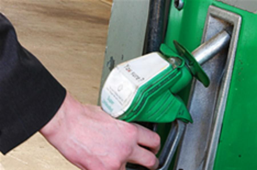 Hauliers protest fuel tax hike