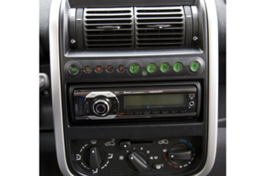 Think City instrument cluster