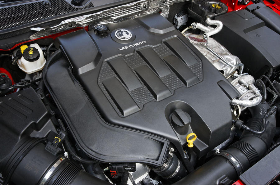 2.8-litre Vauxhall Insignia VXR engine