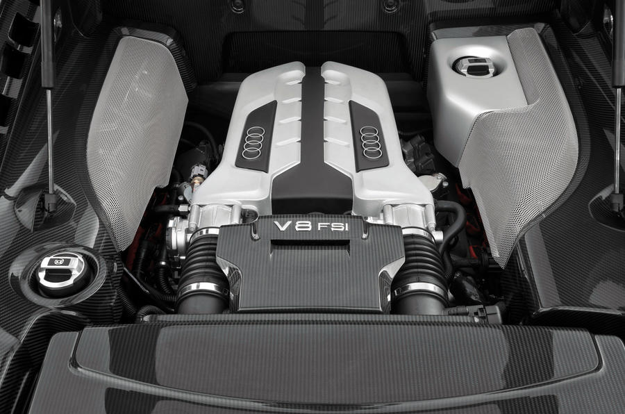 4.2-litre V8 Audi R8 engine