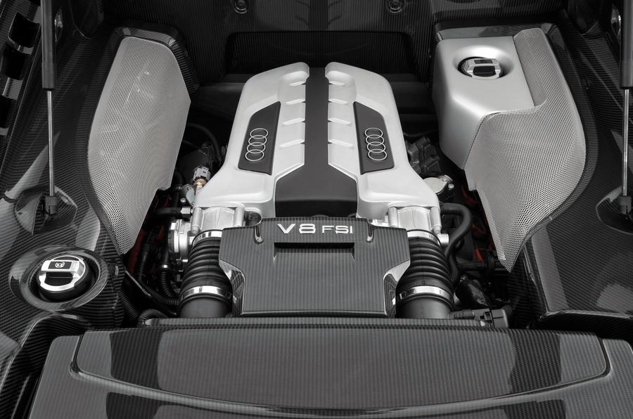 4.2-litre V8 Audi R8 engine
