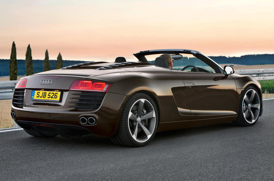audi r8 spyder v8 review autocar. Black Bedroom Furniture Sets. Home Design Ideas