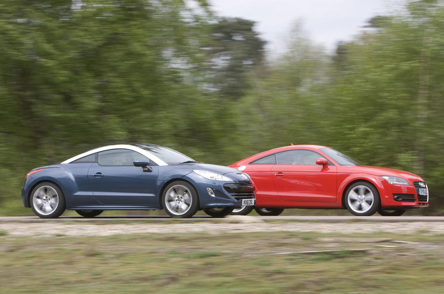 Peugeot RCZ v its rivals