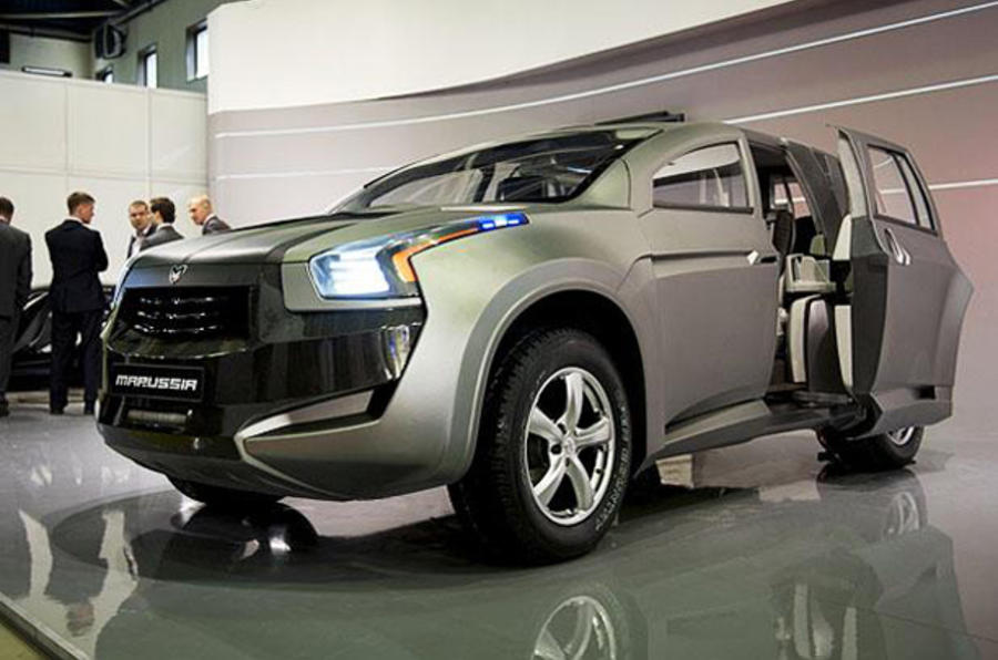 Supercar maker launches an SUV