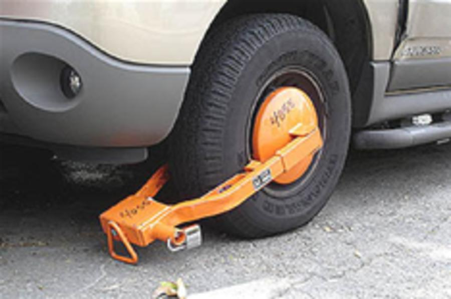 Ban private clamping, says AA