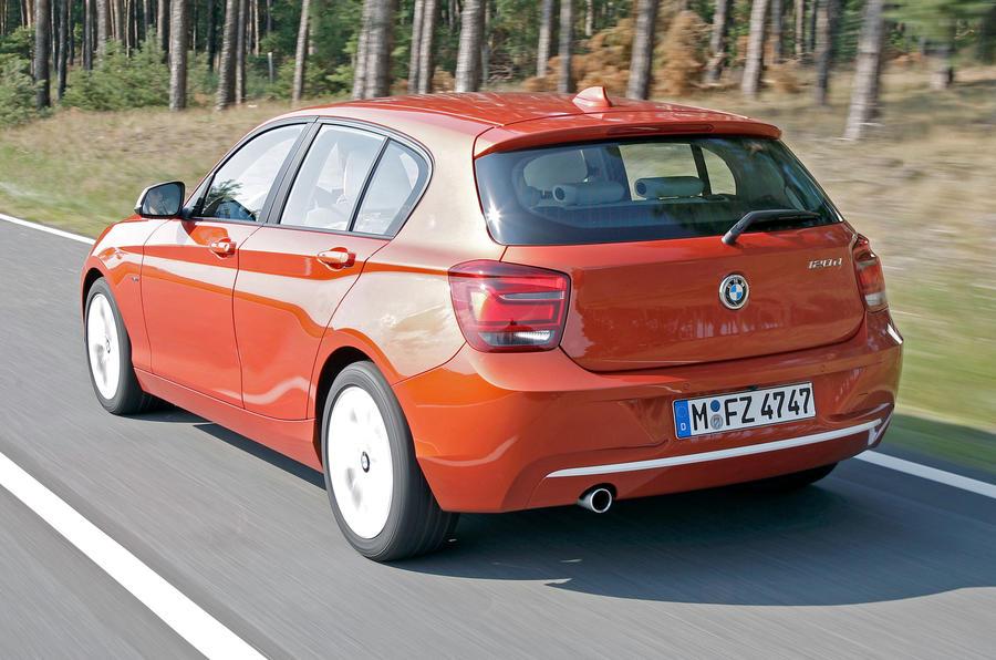 BMW 120d rear