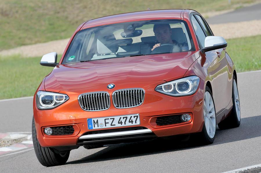 BMW 120d cornering